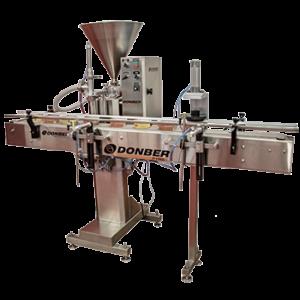 llenadora pyme para productos viscosos modelo pyme transportador