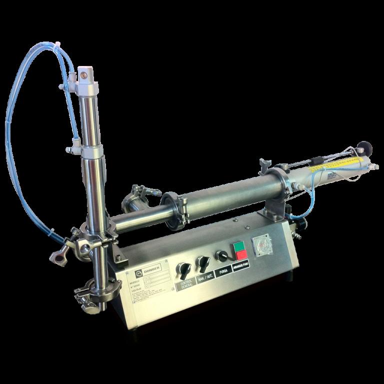 1Llenadora mini para productos líquidos modelo Mini Check, Marca Donber