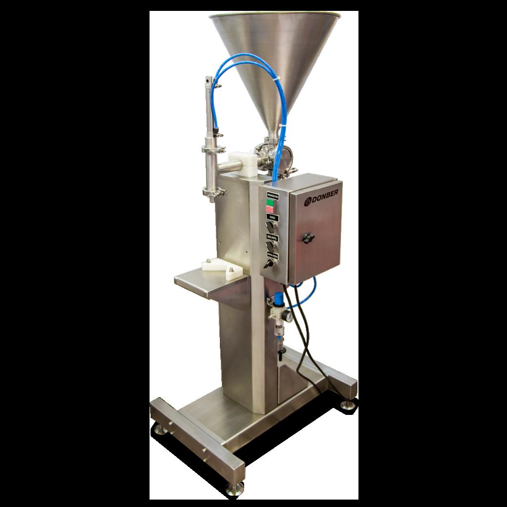 llenadora pyme para productos viscosos Pyme Valvula, marca Donber
