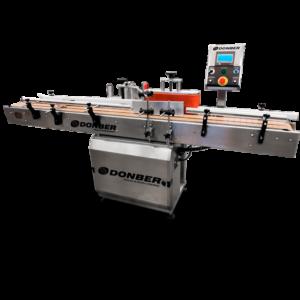 Etiquetadora automática para envases cuadrados y redondos, Modelo ET-50, Marca Donber