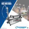 Envasadora mini para productos líquidos modelo Mini Check, Marca Donber