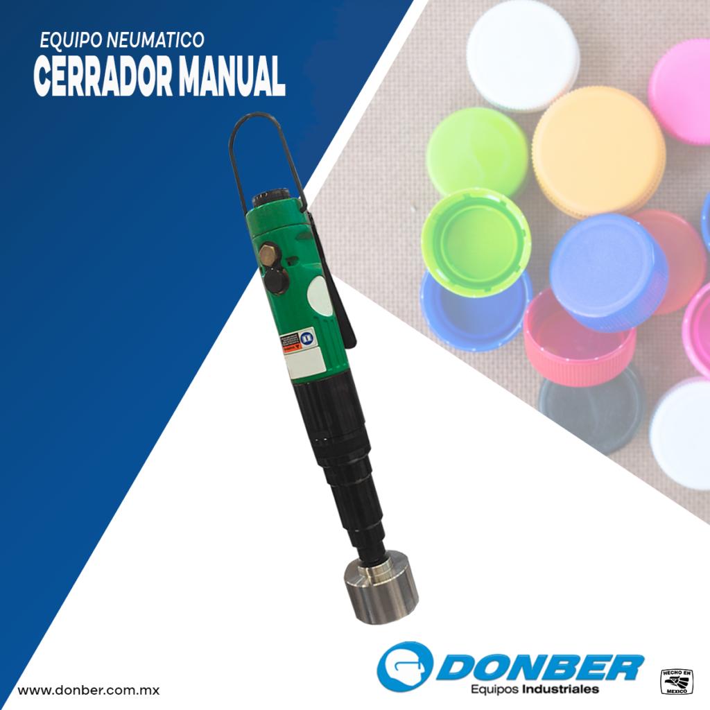 Cerrador manual marca Donber equipos industriales
