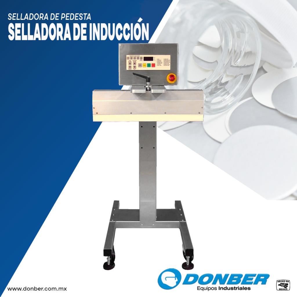 Selladora de inducción, Donber equipos industriales.